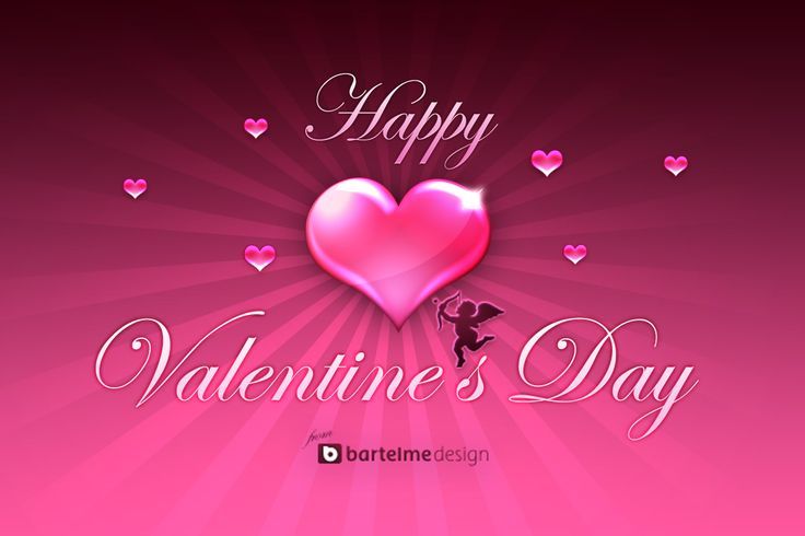happy valentines day hd background