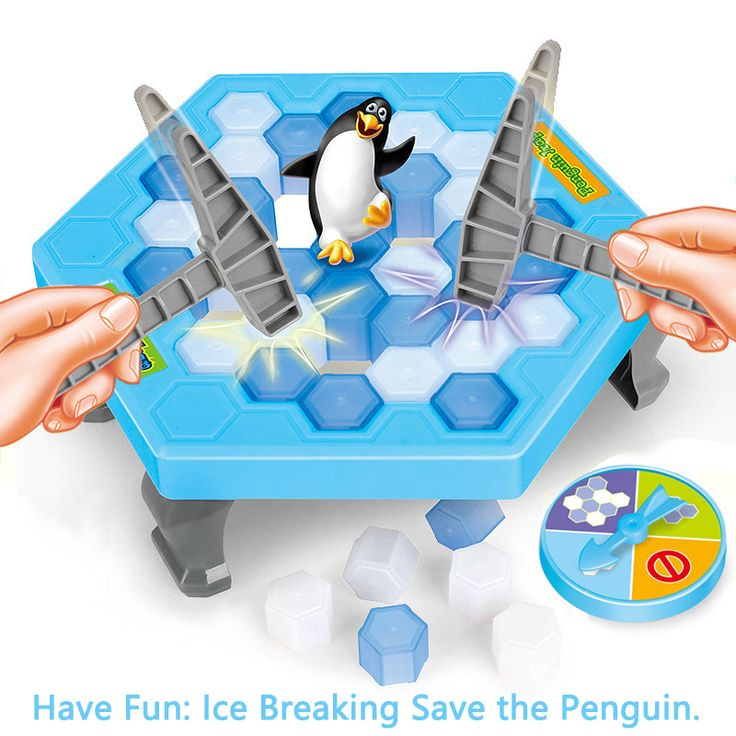 Interactive Ice Breaking Save Penguin Trap Parents Children Kids Funny Game Activate Entertainment Toy Penguin Trap With Box