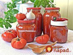 Vynikajúca paradajkové omáčka, ktorá vydrží až do zimy. Skvele sa hodí na prípravu mäska a k cestovinám. Vyskúšajte ju aj vy! :-)