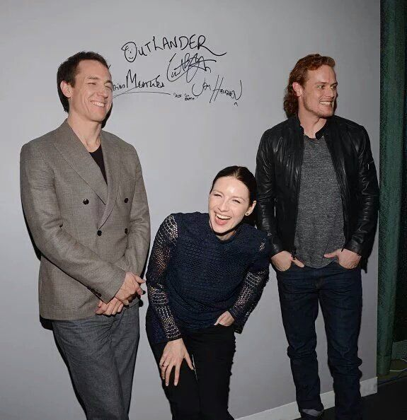 Pics of the Outlander Cast from the AOL Build Interview | Outlander Online