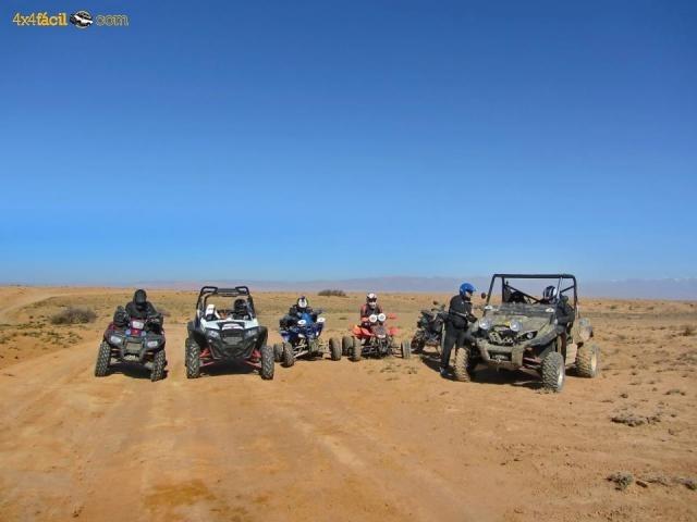 Super Buggie Raid y Quad. Atravesaremos el anti Atlas alternando pistas de montaña con pistas típicas de desierto
