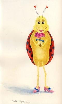 17 Best Ideas About Ladybug Art On Pinterest Watercolor