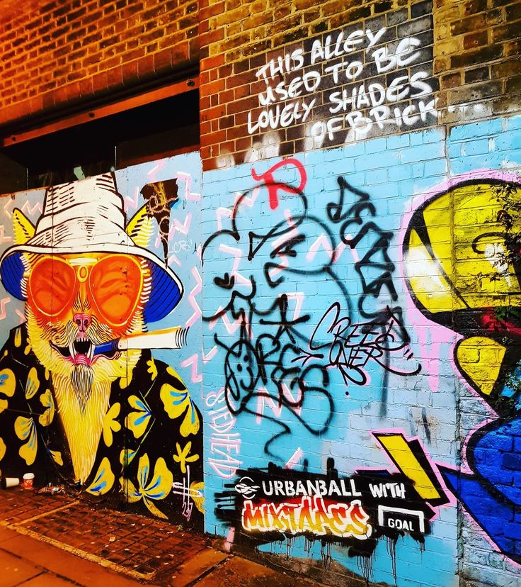 Words that cross my mind when i hear Shoreditch : impressive, vibrant, mural, prolific, art, expressive. This East part of London is th...