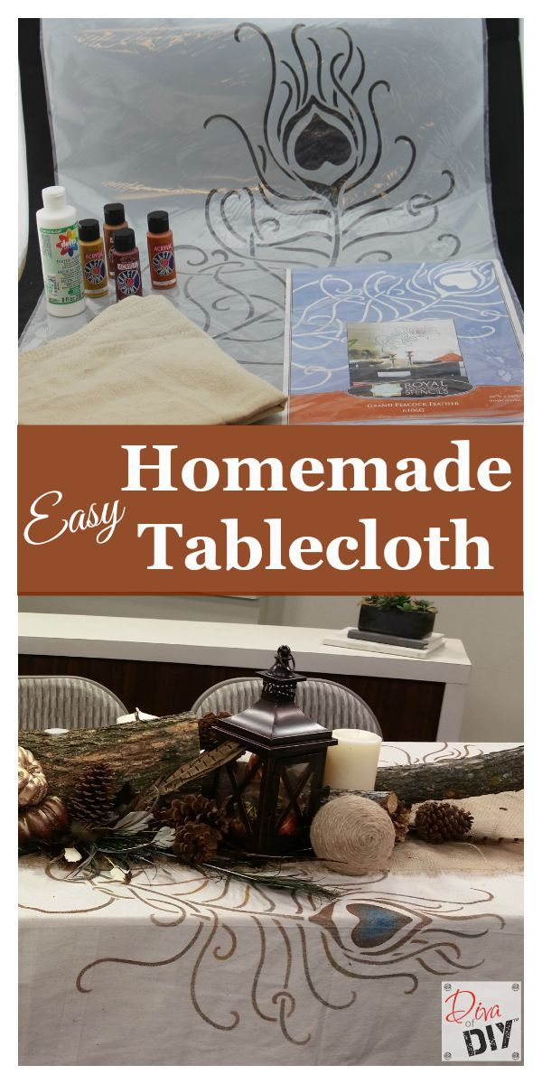 homemade tablecloth how to make a drop cloth tablecloth