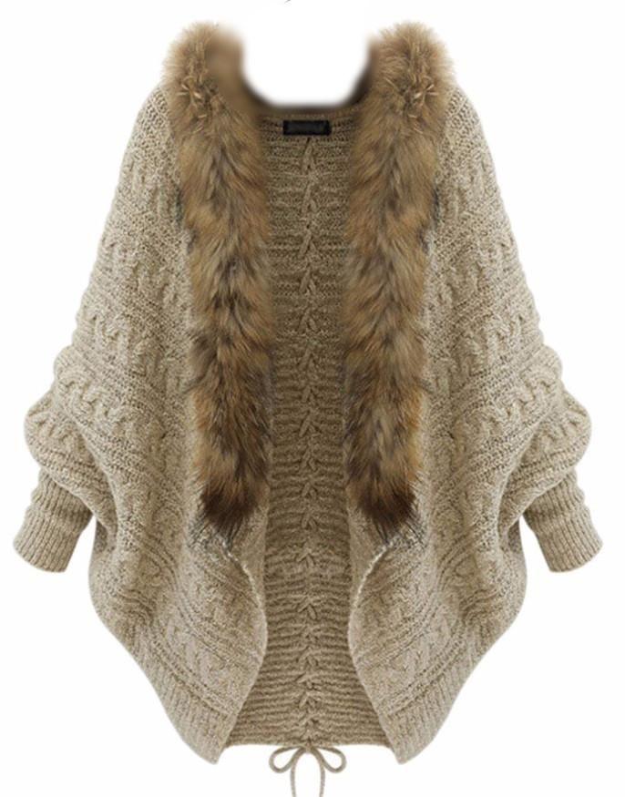 Knit Batwing Cardigan