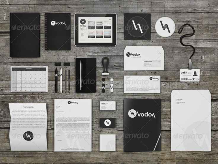Corporate and Brand Identity Mock-Up #psd #photoshop #corporate #identity #logo #letterhead #business #card #stationery #booklet #mug #coffee #cup #envelope #CD #name #tag #ipad #stamp