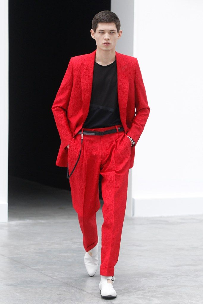 Balenciaga Spring 2013 Menswear Collection Photos - Vogue