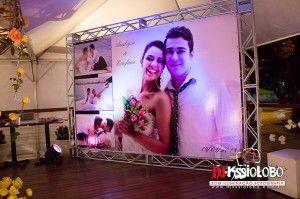 Backdrop - Dj Campinas som iluminação para casamento, festas e eventos