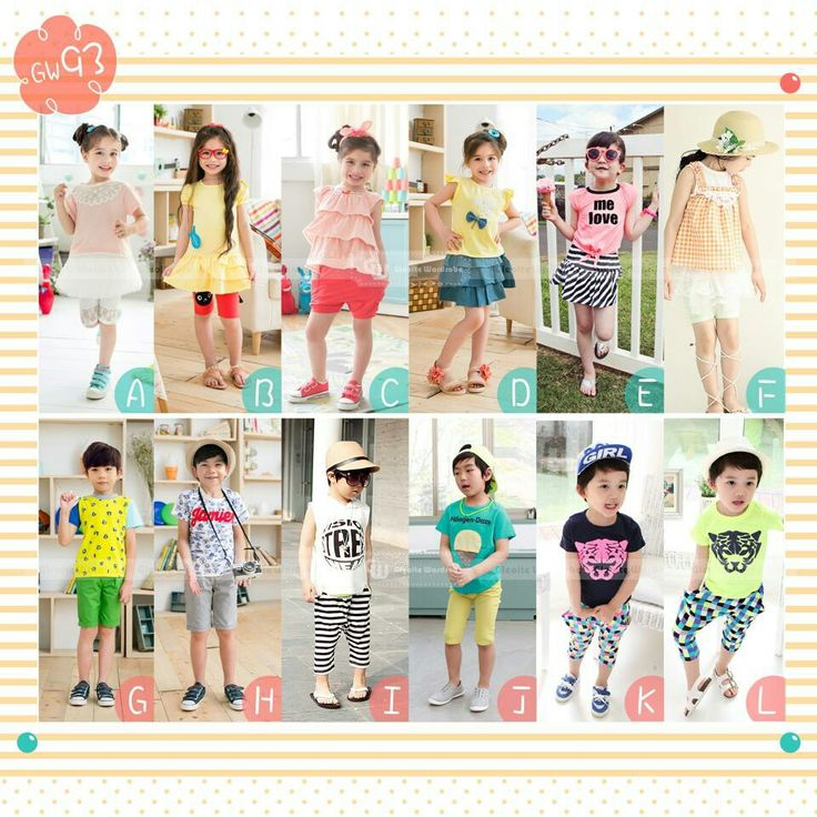 GW93 FASHION STYLE SIZE 95-160 FIT TO 2T-12T