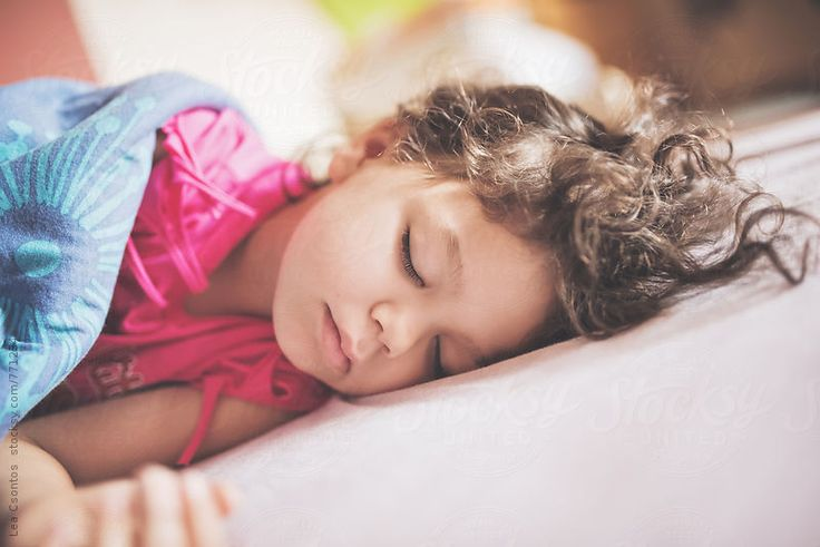 Child sleeping peacefully by Lea Csontos