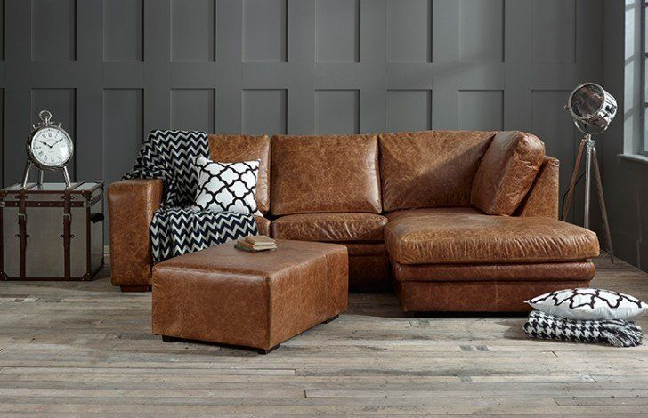 Leather Chaise Sofa Bed Right Hand Facing