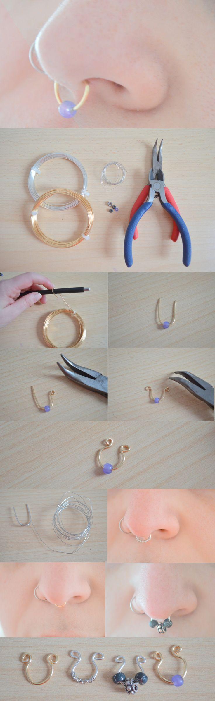 DIY : http://leheaumedelamort.blogspot.fr/2015/03/diy-les-faux-bijoux-de-septum.html
