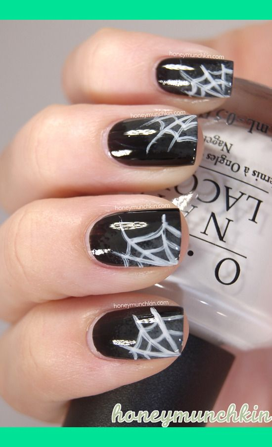 Halloween: Spider webs | Emelie J.'s (honeymunchkin) Photo | Beautylish