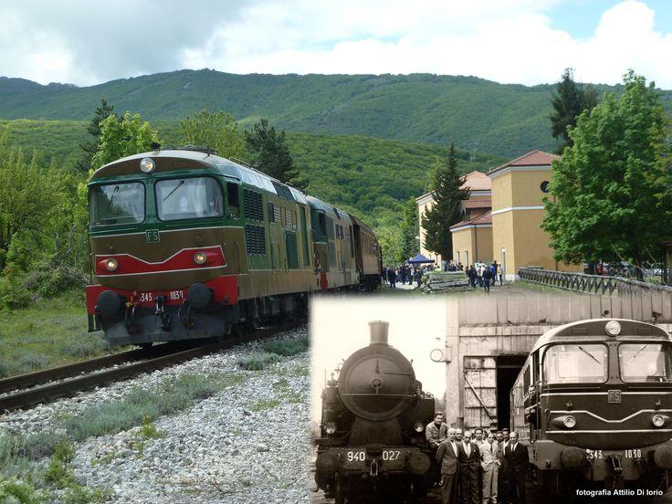 La locomotiva diesel D343.1030 è stata la prima della serie 343 arrivata a Sulmona il 6 giugno 1969 dal deposito di Torino Smistamento, dove aveva fatto servizio per il periodo di garanzia (la consegna da parte dell'OMECA era avvenuta ad aprile). Le D343 FIAT rimasero assegnate al deposito di Sulmona fino al 1975, allorquando alla fine di maggio, sostituite dalle locomotive Breda, furono inviate in Sicilia (a Palermo la 1030).