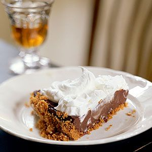 Chocolate-Cream Pie - Healthy Cream Pie Recipes - Cooking Light