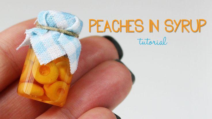 Tuto vidéo bocal de pêche miniature fimo / bocal / tissu / pastel sec / fimo liquide