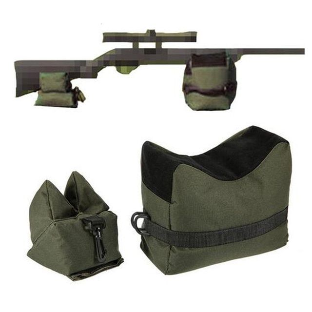 Large SHOOTING BAG SET Front /& Rear Bags Gun Rest Range Rifle Target Hunting USA