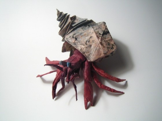 another hermitOrigami Artists, Awesome Origami, Origami Hermit, Artists Brian, Brian Channing, Paper Art, Channing Previous, Hermit Crabs, Hermit Origami