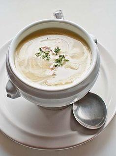 Sopa de hinojo con salmón, receta alemana con Thermomix « Thermomix en el mundo