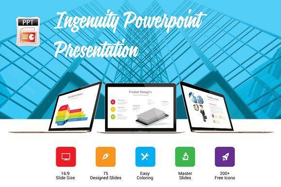 Ingenuity - Business Presentation by Grapics Studios on @creativemarket