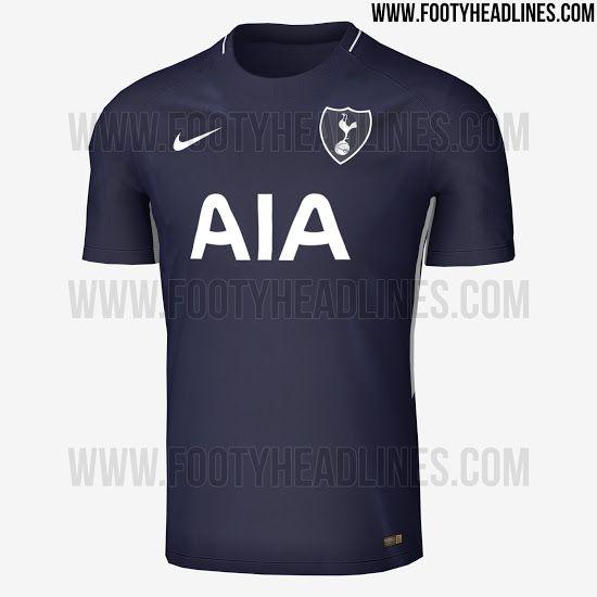 Nike Tottenham 17-18 Away Kit Leaked - Footy Headlines