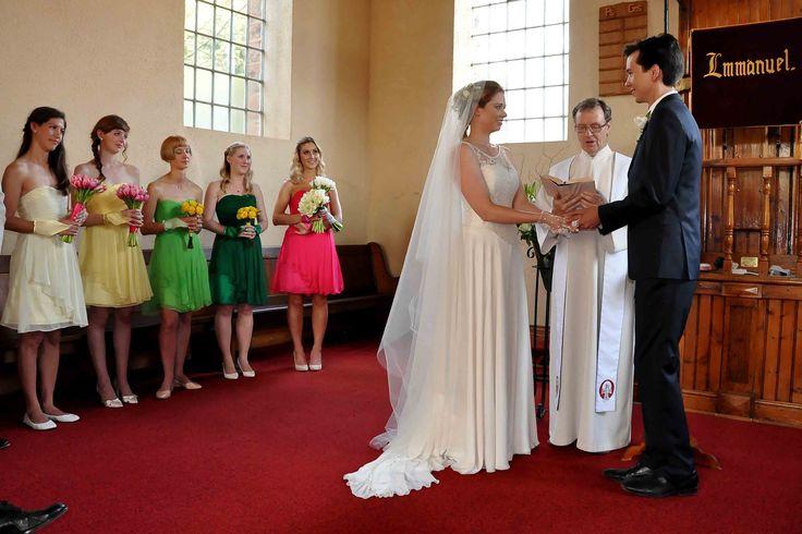 My beautiful #spring coloured bridesmaids