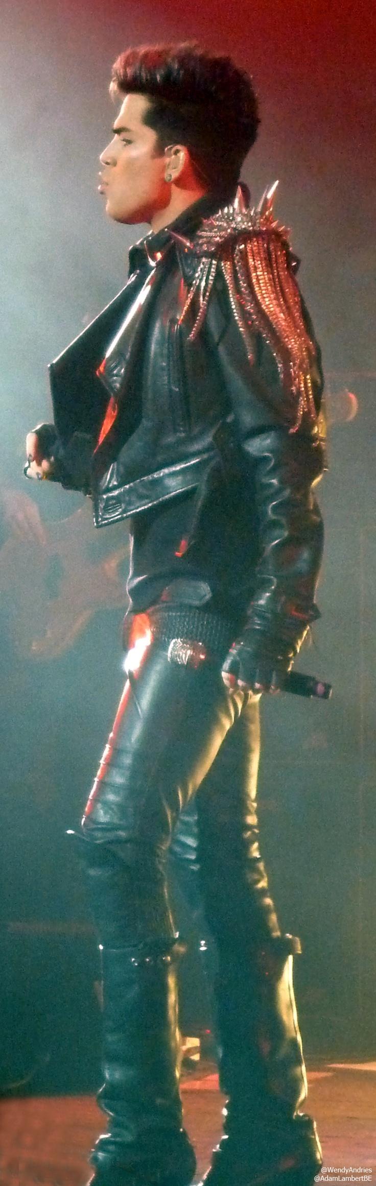 Adam Lambert, London show, 11th July 2012 | Source: @Wendy Felts Andries / @Adam M Lambert Belgium