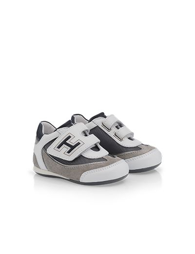 "#HOGAN ""First Steps"" Spring - Summer 2013 #collection: suede and leather OLYMPIA #sneakers."