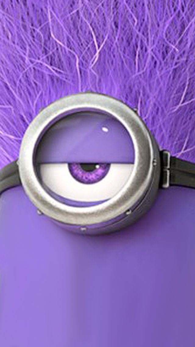 Purple Minion 。◕‿◕。 See my Despicable Me Minions pins https://www.pinterest.com/search/my_pins/?q=minions