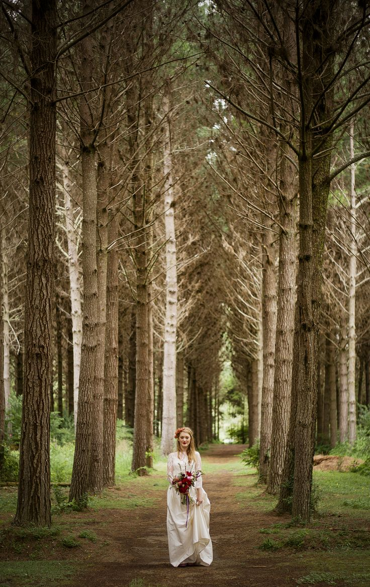 wooded wedding! / teacupsandrainstorms,com / johanna macdonald wedding photography