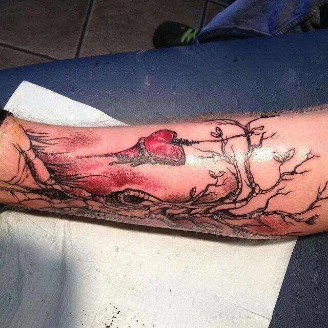 Fan tattoo #The Used: Tattoo'S Galor, Fans Tattoo'S