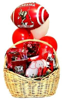 Alabama Football Gift Basket | Gourmet Gift Baskets with Licensed Gift Items