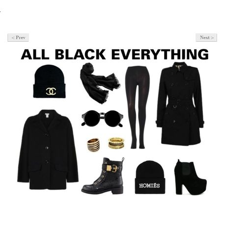 What's trending: All black everything. Read more in The MAgazine > http://www.diligo.co.za/magazine/2013/06/10/whats-trending-all-black-everything/