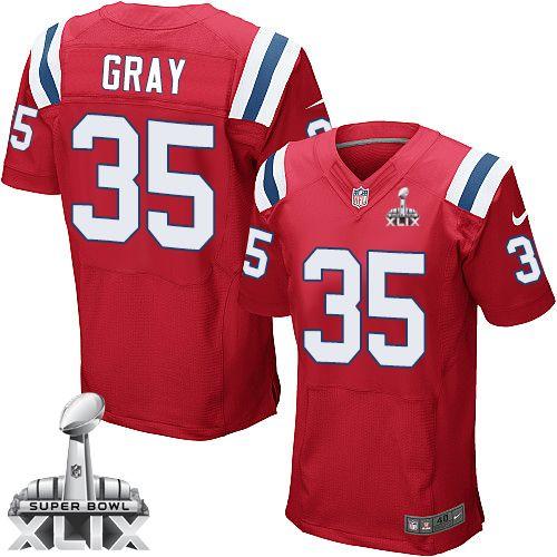 ... Brandon Lloyd Red Elite Jersey NFL New England Patriots Jonas Gray Mens  Elite Alternate Red 35 Super Bowl XLIX Jersey ... 45ac9f23f
