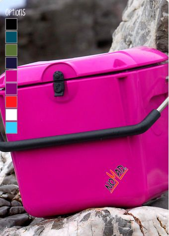 Nomad Cool Box Really Cool Ice boxes to suit your every need. So versatile, it can be used on many different occasions and in many different places. It comes in a range of vibrant colours including , purple, pink, red white and blue and will keep your foodie favourites frozen for up to 5 days and chilled for up to 10 days without a power supply. With its 37 litre capacity, it will hold up to 12 bottles of sparkly for that special occasion!. Sturdy and resilient having been carefully…