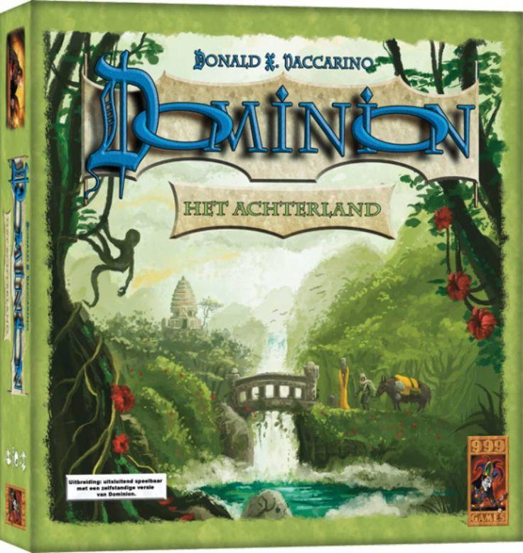 Deze uitbreiding op Dominion voegt 26 nieuwe koninkrijkkaarten aan het spel toe, waaronder 20 actiekaarten, 3 geldkaarten, 3 overwinningskaarten en 3 reactiekaarten.   http://www.planethappy.nl/999-games-dominion-het-achterland.html