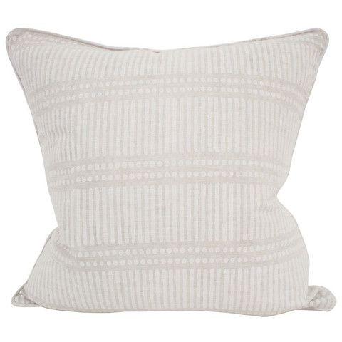 Dash Dot Linen Cushion from Salt Living  #walterg #saltliving #cushion