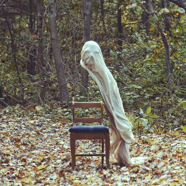 "This is the work of Christopher McKenney, a conceptual artist from Pennsylvania. He calls his photography style ""horror surrealist"". 