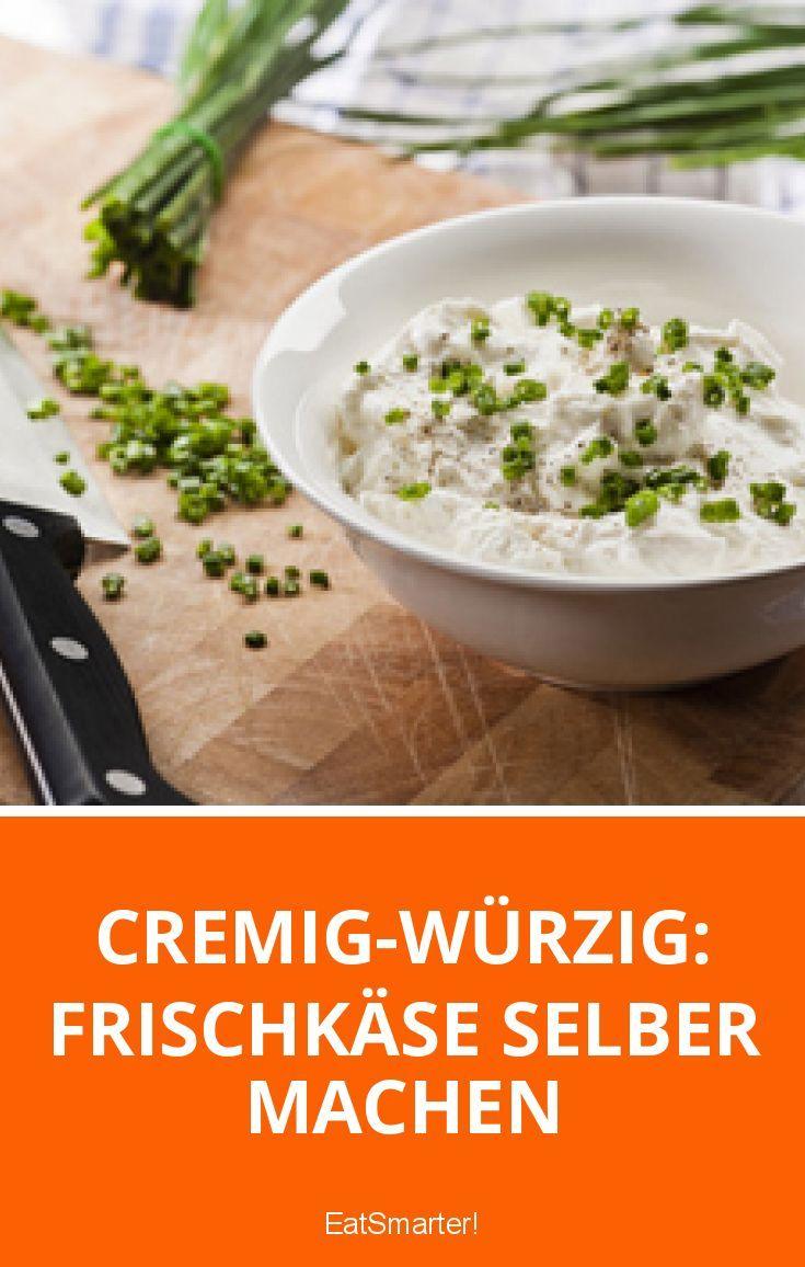 Cremig-würzig: Frischkäse selber machen   eatsmarter.de