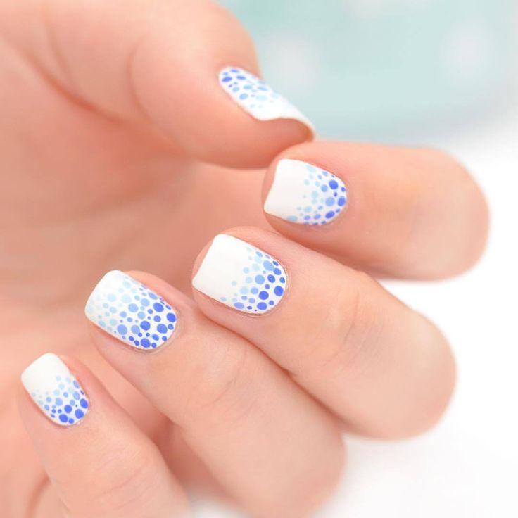 Le tuto de la semaine yoko nail art vous propose un nailart facile r aliser pour tous les - Idee nail art facile ...