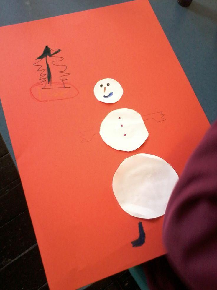 Planning the snowmen