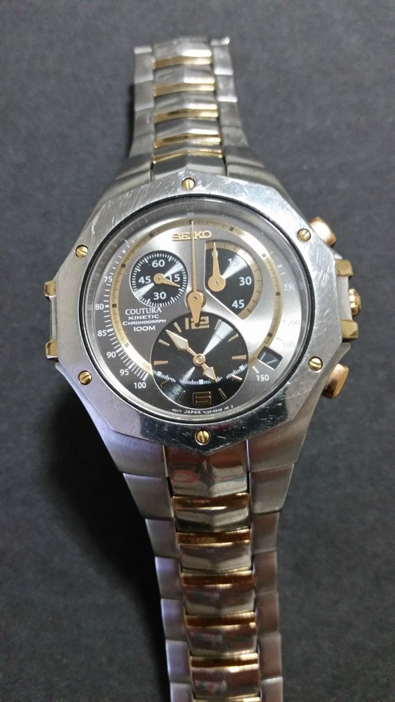 Seiko Coutura Kinetic Chronograph Collection Model by trufflepig1