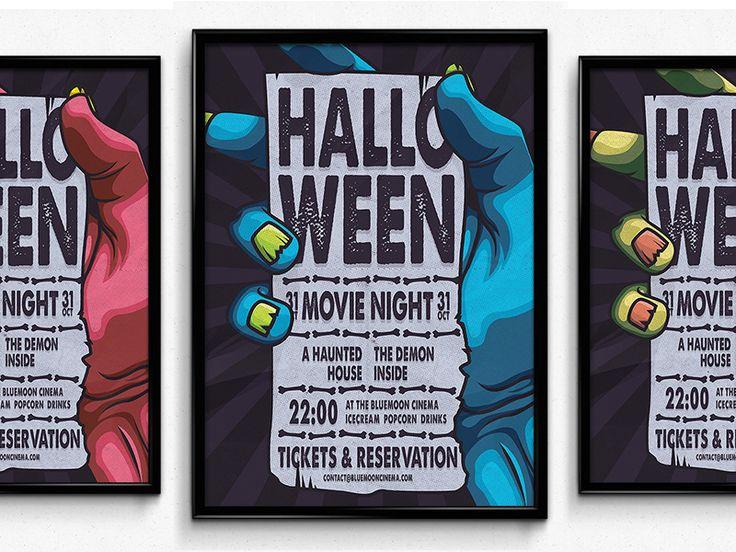 Halloween Movie Night by Vede Emanuel