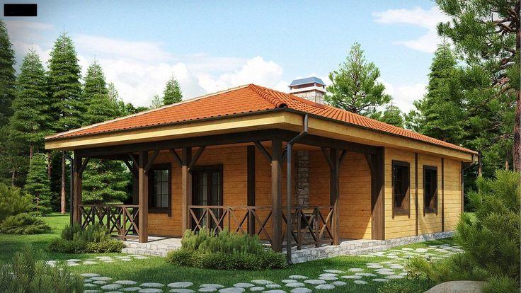 Projekt domu SZ5 Z16 D - DOM OZ1-56 - gotowy projekt domu