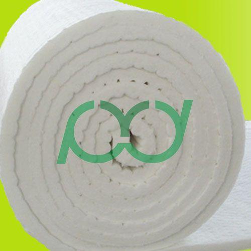 Ceramic fiber blanket for furnace lining