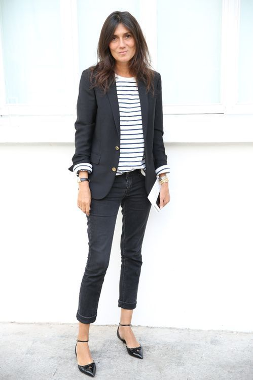 Emmanuelle ALt French Street Style Parisian Chic French Style