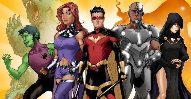 titans tv series 2015 Teen Titans TV Series Titans Pilot to Shoot in 2015