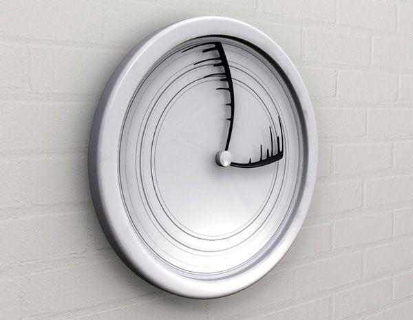 Creative Clock Design http://www.interiorholic.com/