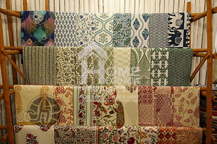 Indian Home Textiles…..art of hand block printing weaves many stories……sanganeri, bagru and much more from the Pink City of Jaipur…..source this variety at Home Expo India, 2016 #hometextiles #tradeshow