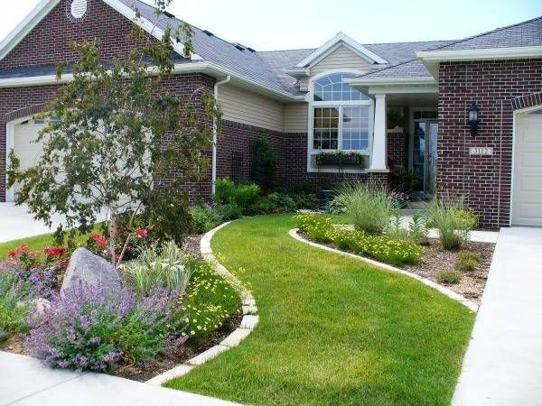 Front Yard Landscaping Ideas Iowa : Yards view image birch tree yard stuff curb appeal backyard ideas